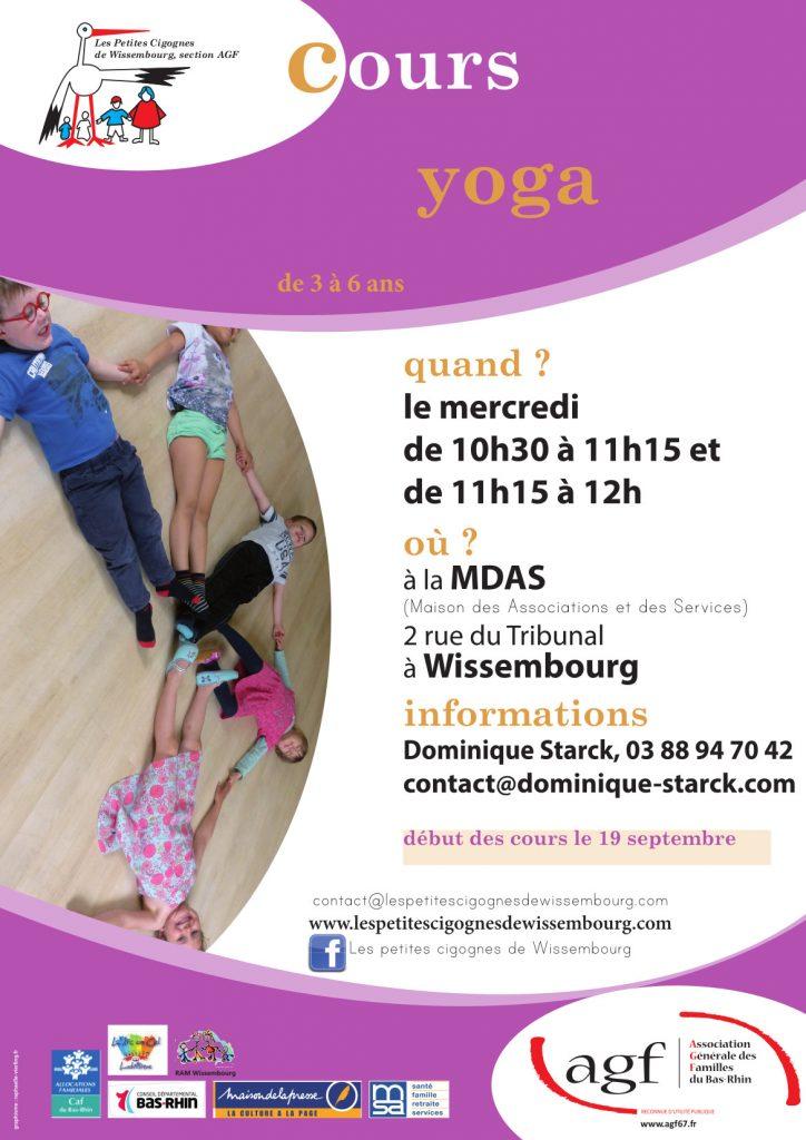 Cours de Yoga 2018 - 2019