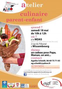 Atelier culinaire parent-enfant @ Maison des Associations et des Services