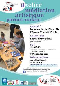 Atelier médiation artistique parent-enfant @ Maison des Associations et des Services