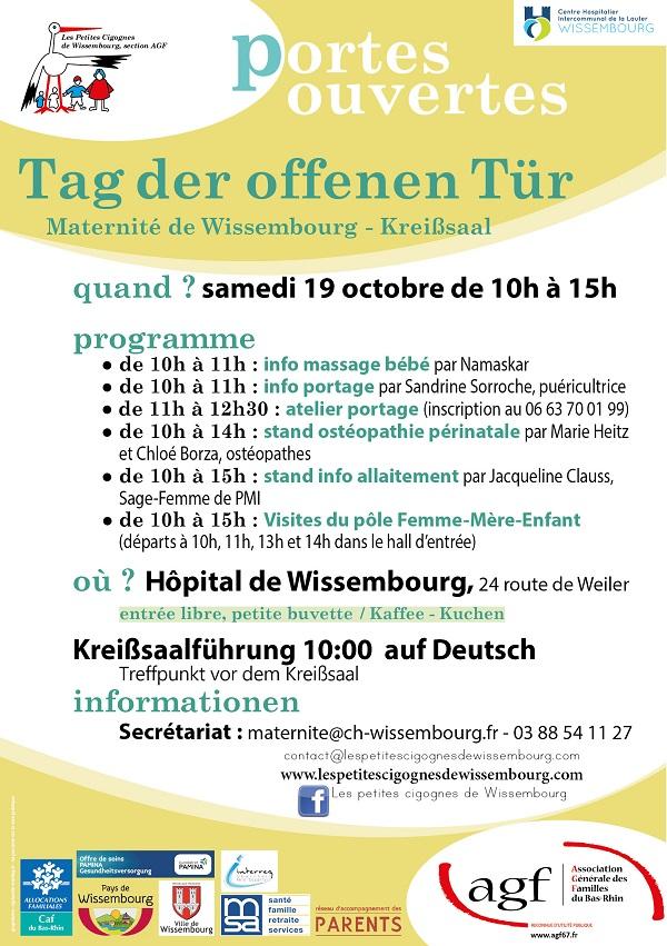 Portes ouvertes maternité de Wissembourg