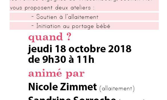 Info Allaitement & Portage bébé