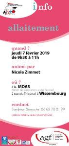 Info allaitement @ Maison des Associations et des Services