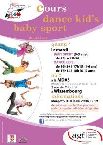 Cours Baby Sport @ Maison des Associations et des Services