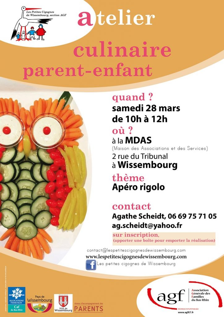 ATELIER CULINAIRE mars 2020